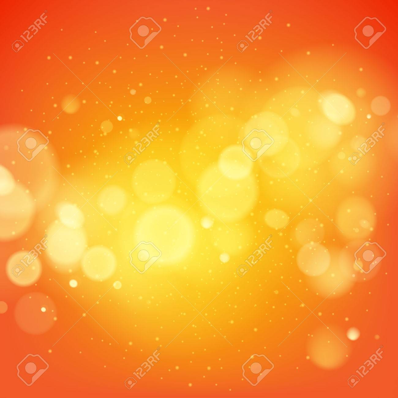 Abstract orange glow vector background. Advertising poster flyer banner cover design. - 55727875