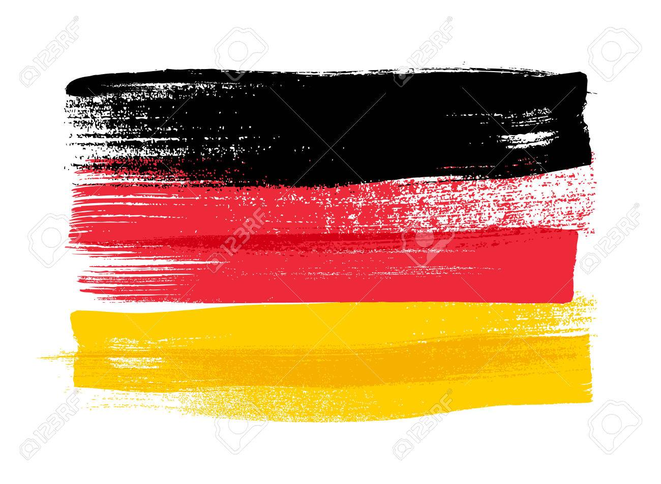 Germany Colorful Brush Strokes Painted National Country German Royalty Free Cliparts Vectors And Stock Illustration Image 56476899