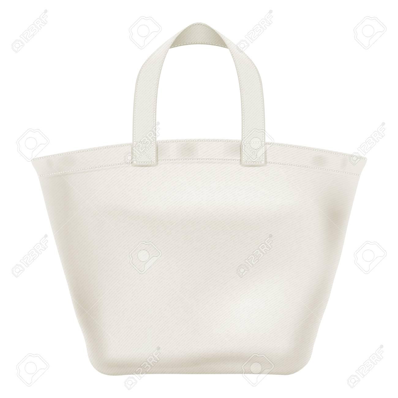 エコ繊維トートバッグ ショッピング バッグ ベクトル イラスト