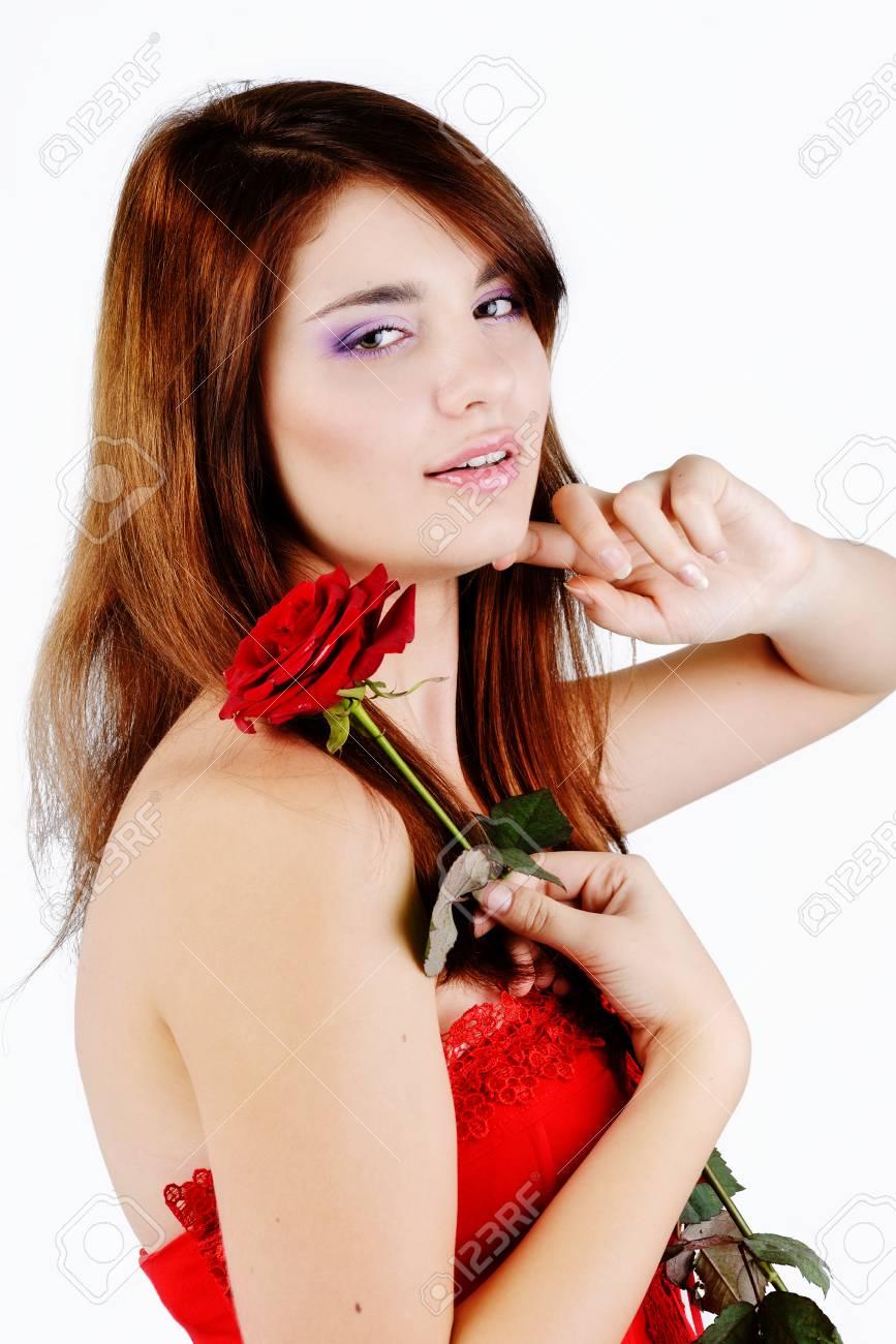 Girl model sweet teen