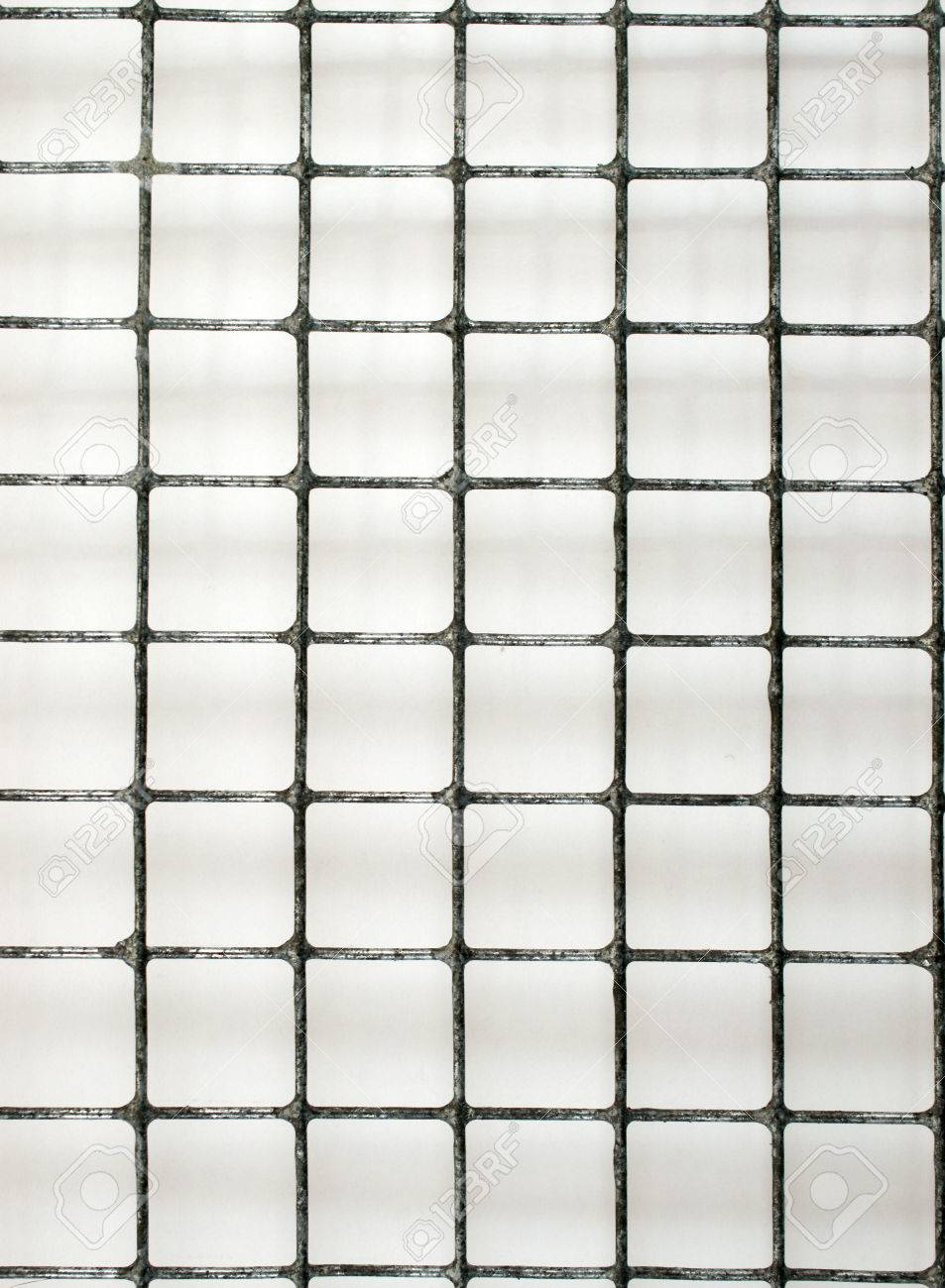 Metal Bars Chicken Wire Background Stock Photo, Picture And Royalty ...
