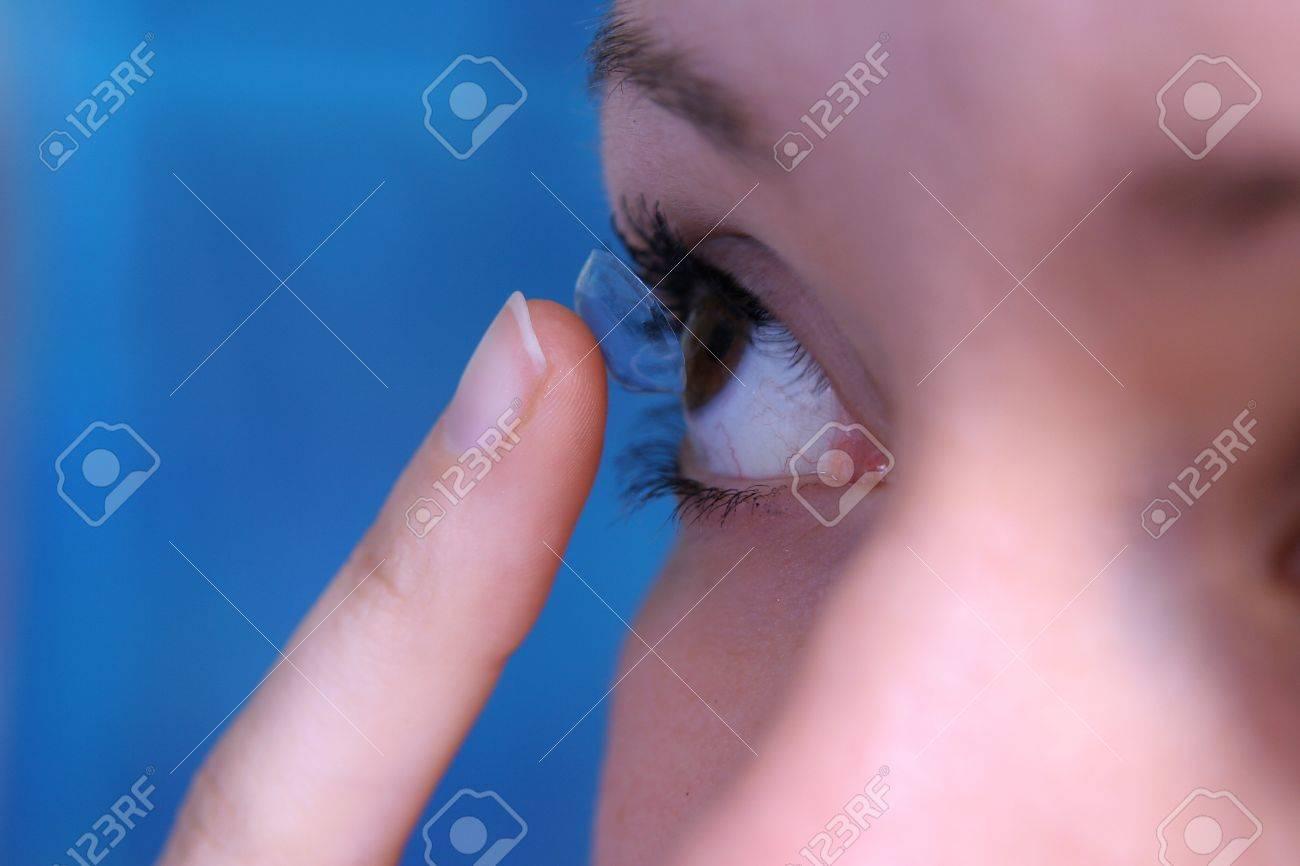contact lens Stock Photo - 13510461