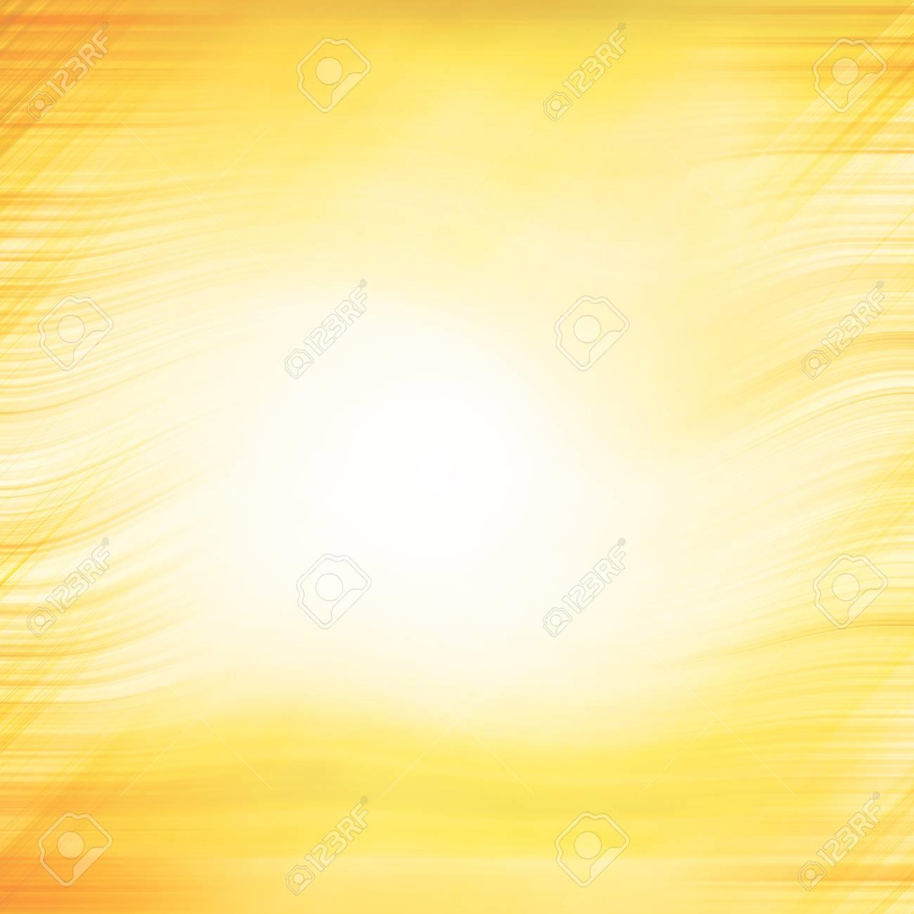 Abstract Background Centered Yellow Orange Summer Sun Light