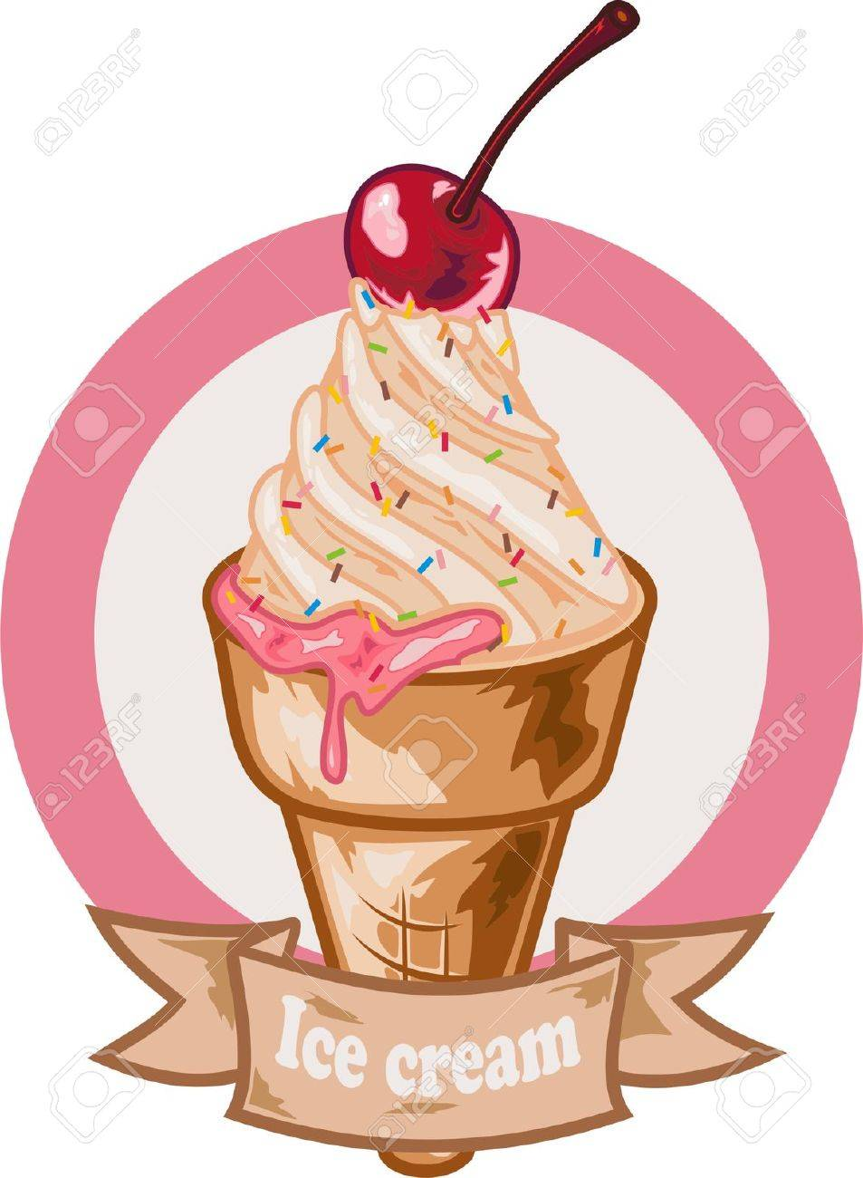 ice cream Stock Vector - 18518475