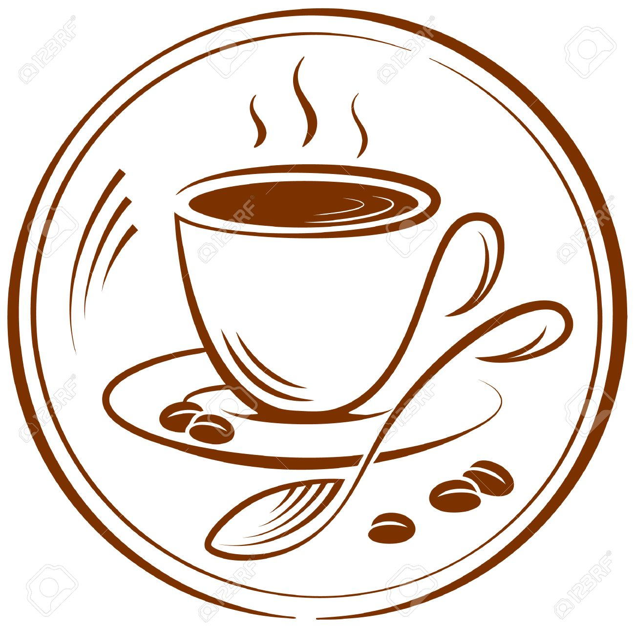 the pictogram with the image of a cup of coffee vector illustration rh 123rf com coffee vector files coffee vector free download