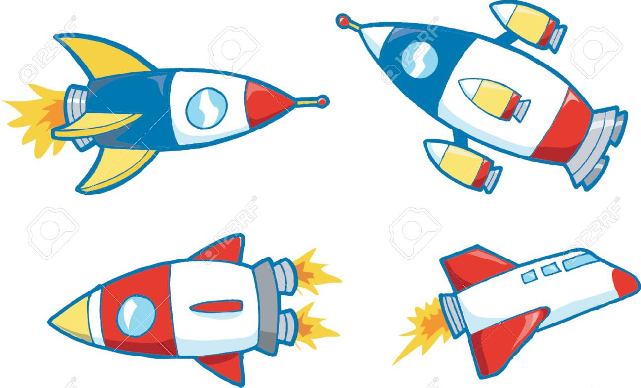 Vector Illustration of Outer Space Stock Vector - 892615