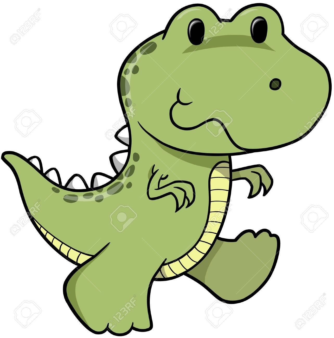 Dinosaur Vector Illustration Stock Vector - 2196108