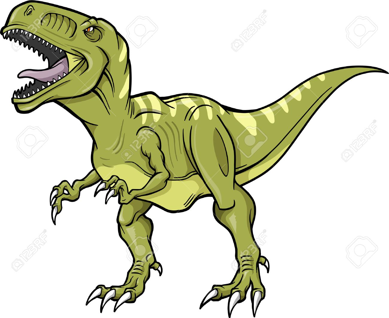 t rex dinosaur vector illustration royalty free cliparts vectors rh 123rf com t rex clipart t rex clipart images