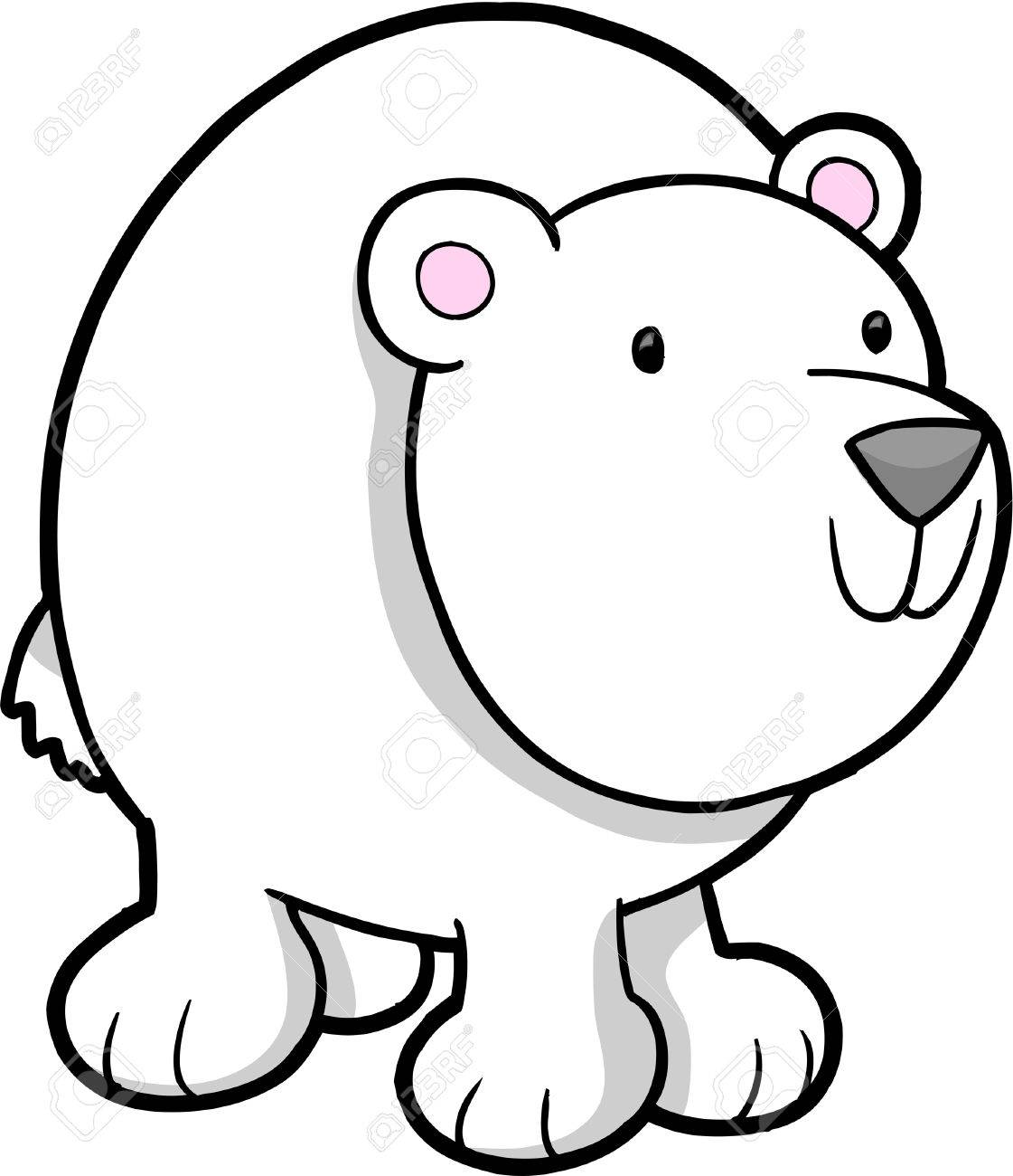 Images For > Oso Polar Para Colorear
