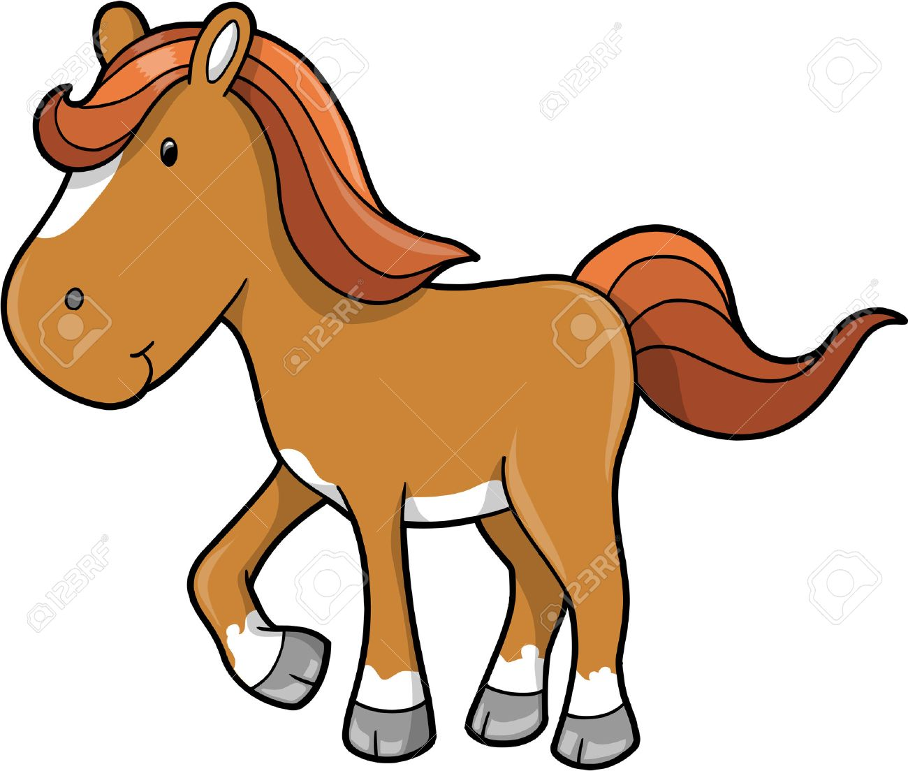 Horse Vector Illustration Royalty Free Cliparts Vectors And Stock Illustration Image 4792597