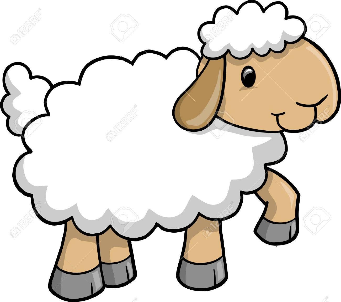 sheep lamb vector illustration royalty free cliparts vectors and rh 123rf com cartoon lamborghini cartoon lambert