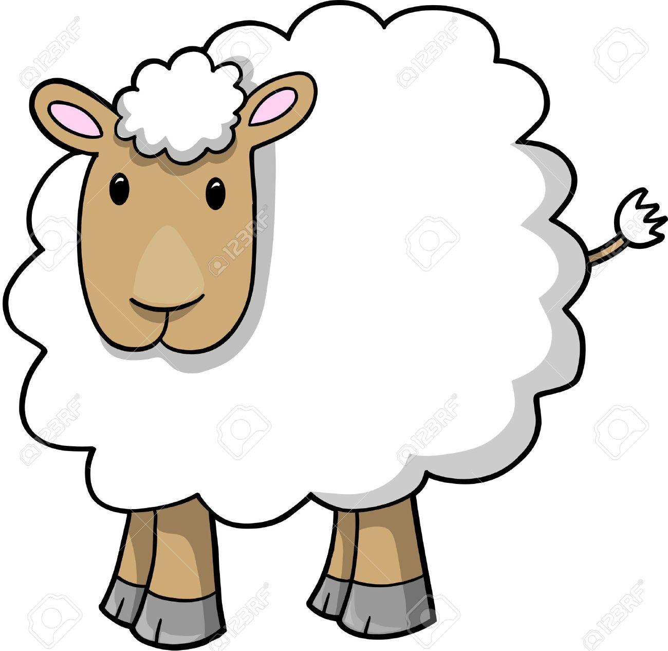 Sheep Lamb Stock Vector - 6774849