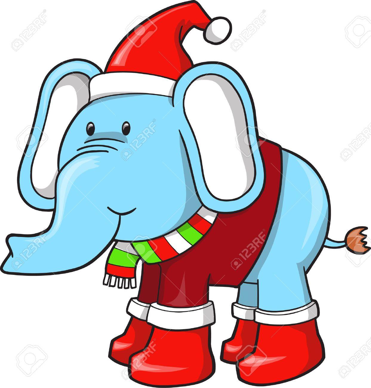 Holiday Blue Elephant - 6847558