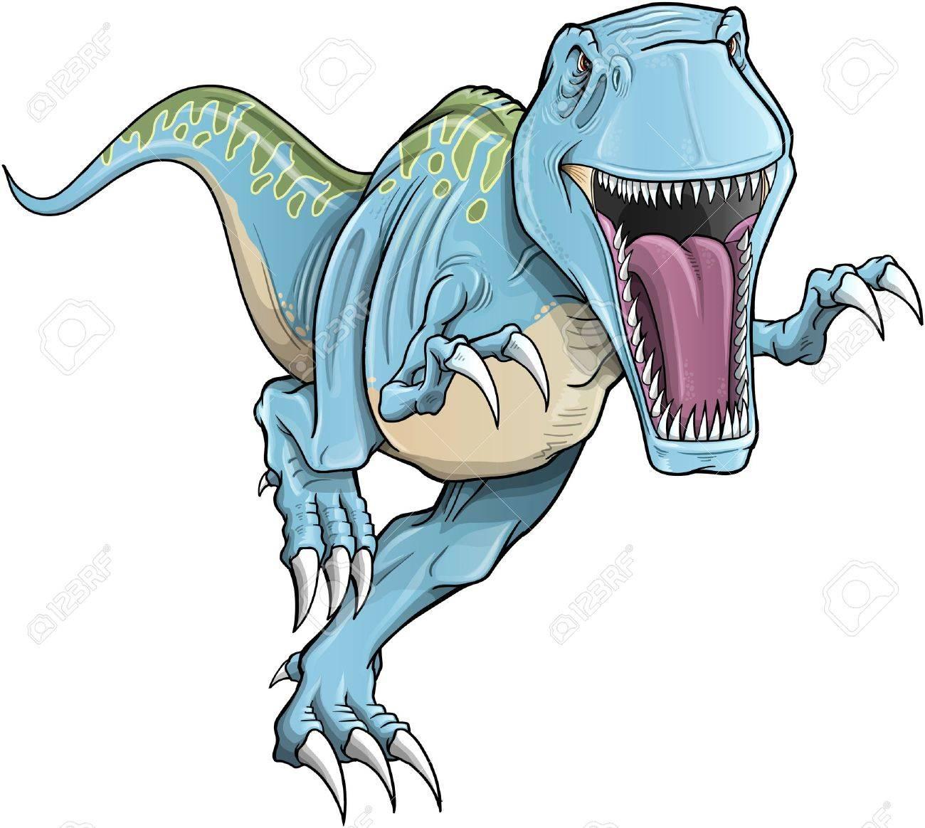 ティラノサウルス レックス恐竜イラストのイラスト素材ベクタ Image