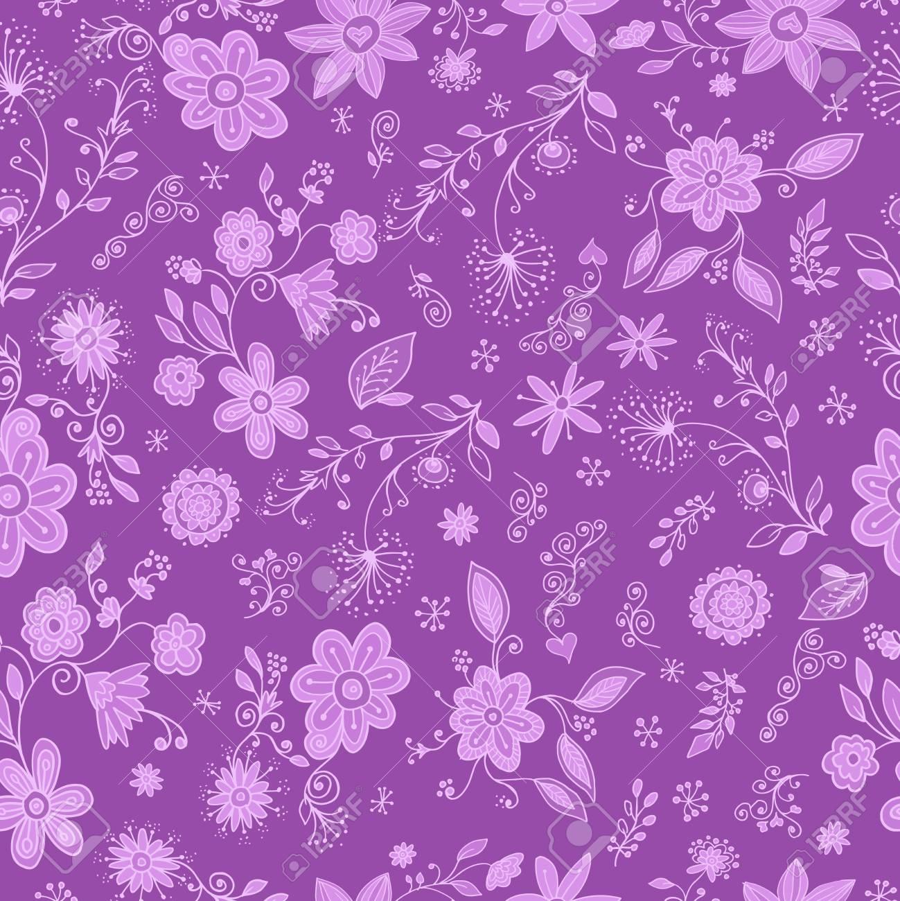 Springtime Flower Seamless Pattern Stock Vector - 17223385