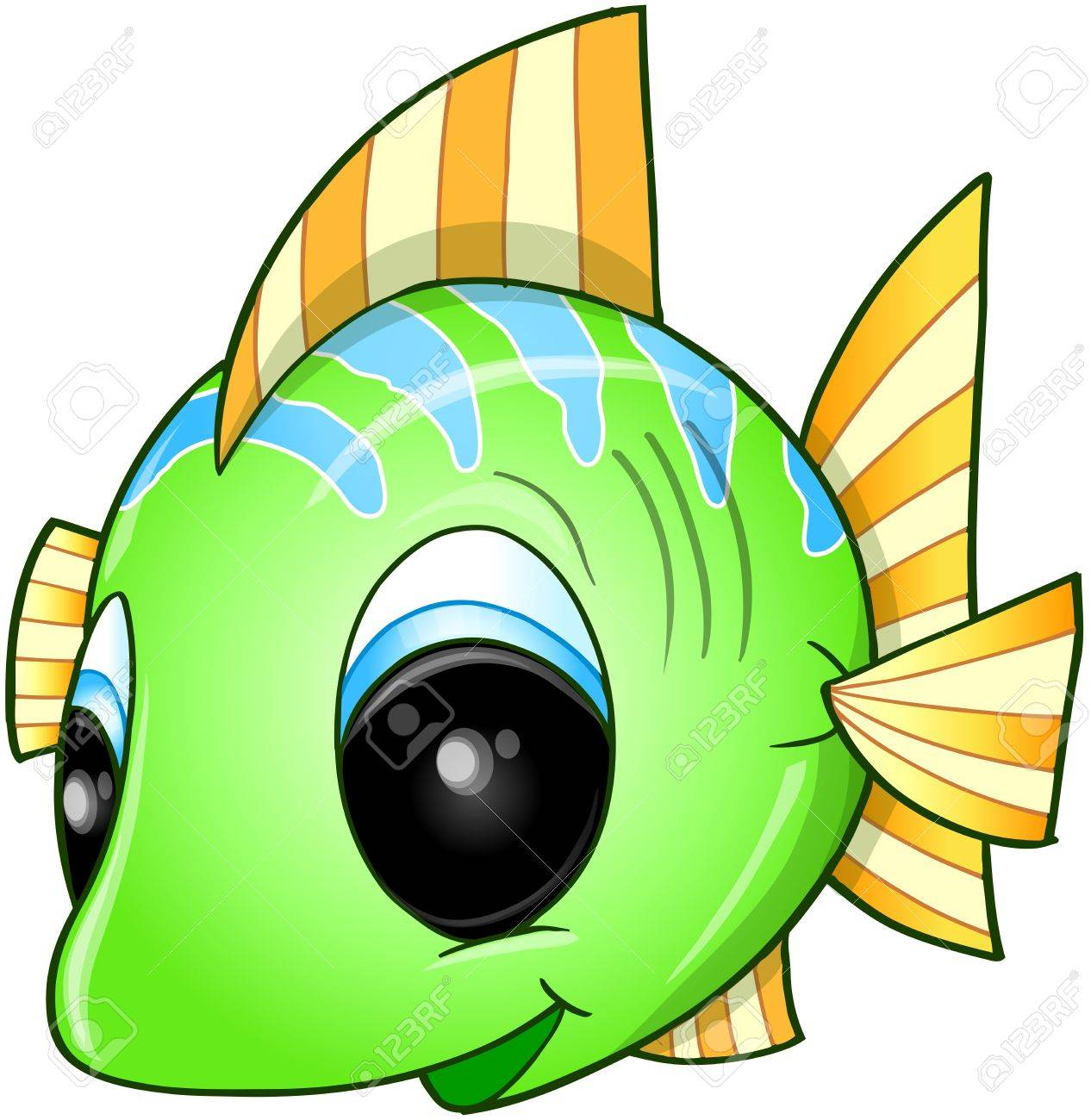 Cute Fish Vector Art Royalty Free Cliparts, Vectors, And Stock ...