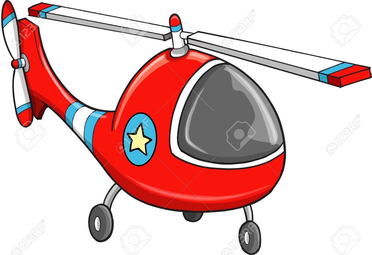 cute rescue police helicopter vector illustration art royalty free rh 123rf com helicopter clipart no background helicopter clipart outline