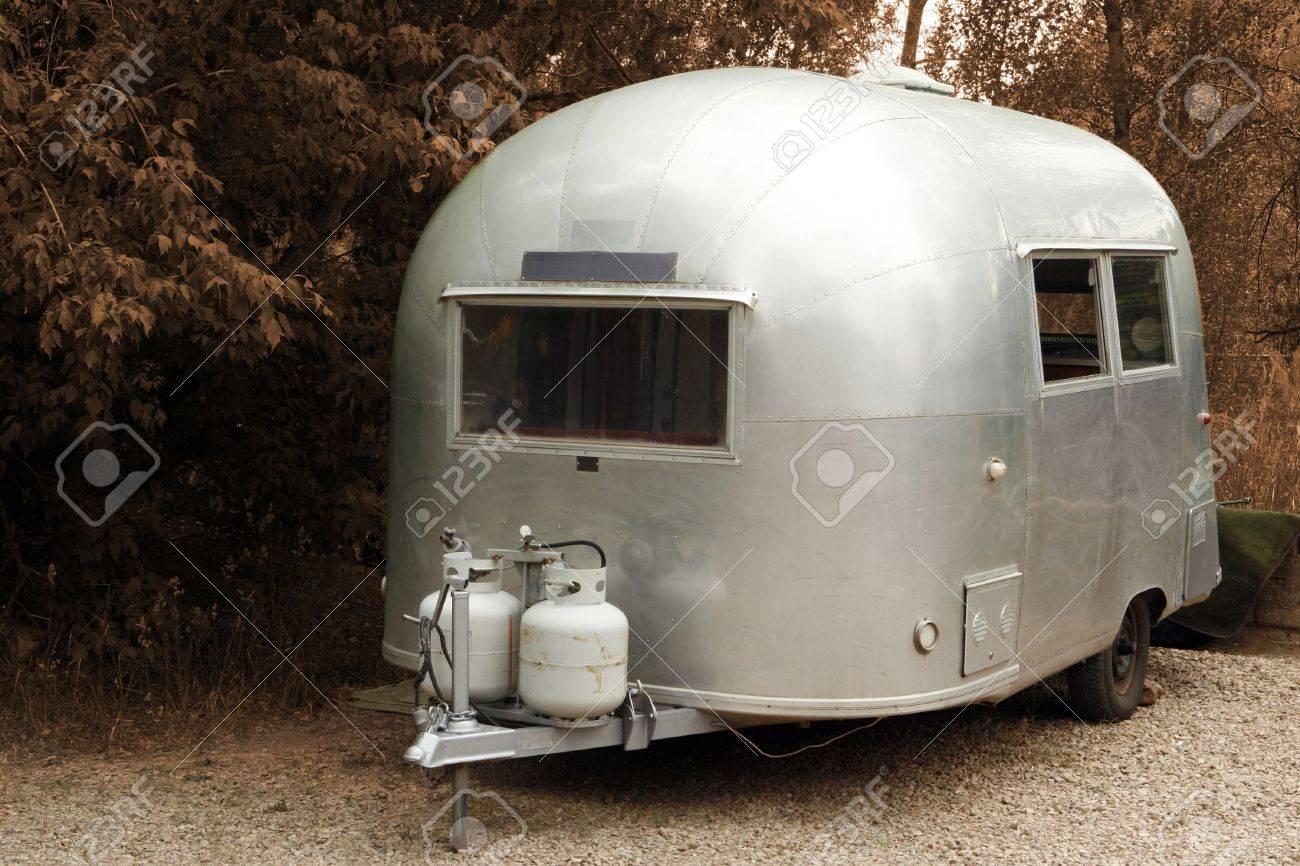 Vintage RV Anhänger Wohnmobil