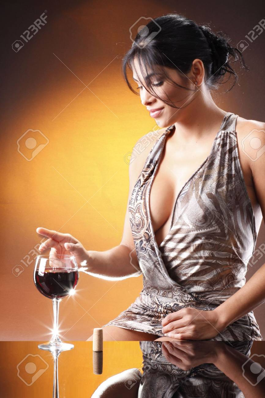 After corking a lot of red wine, you love yours more and more. Stock Photo - 5240858
