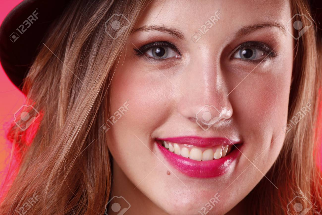 Close up of a cute girl Stock Photo - 7598372