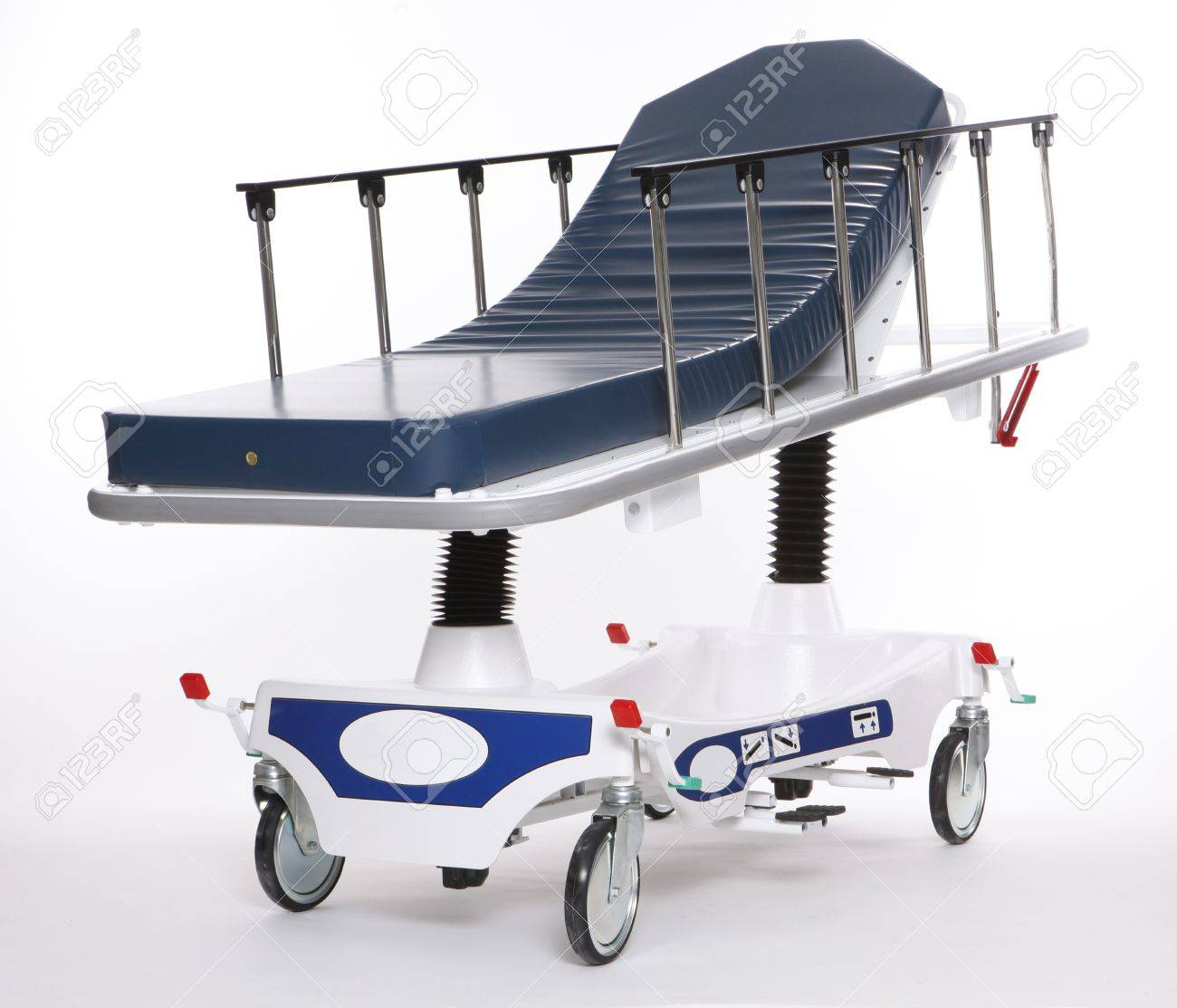 Mobile and adjustable hospital stretcher Stock Photo - 8117995