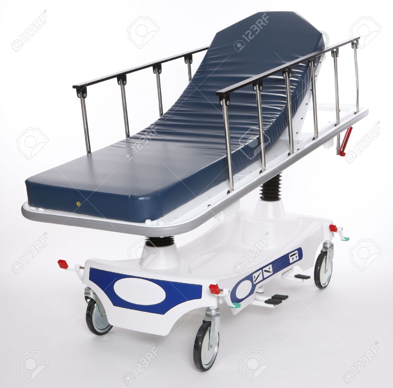 Mobile and adjustable hospital stretcher Stock Photo - 8117985