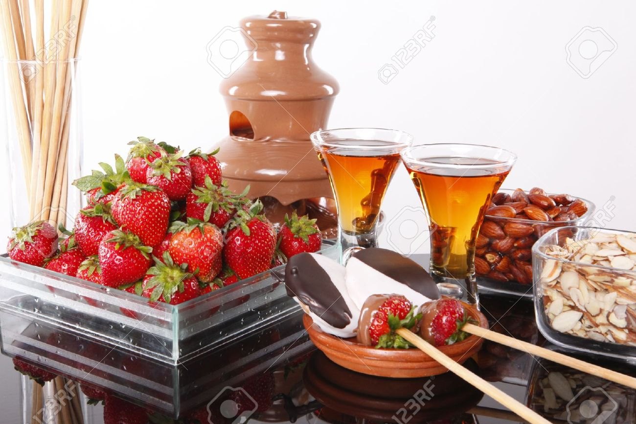 Chocolate Fondue Stock Photos. Royalty Free Chocolate Fondue ...
