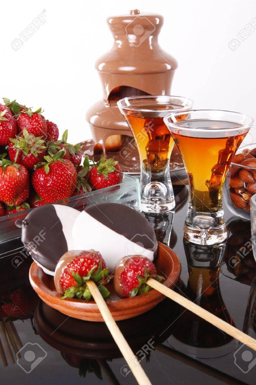 Chocolate Fondue Stock Photos. Royalty Free Chocolate Fondue ...