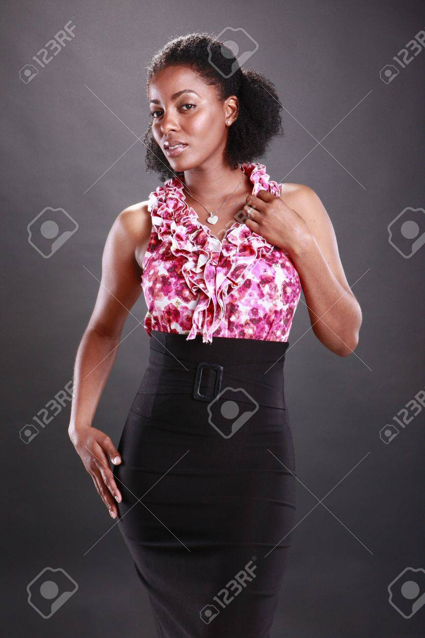 Cute african american Stock Photo - 11553129