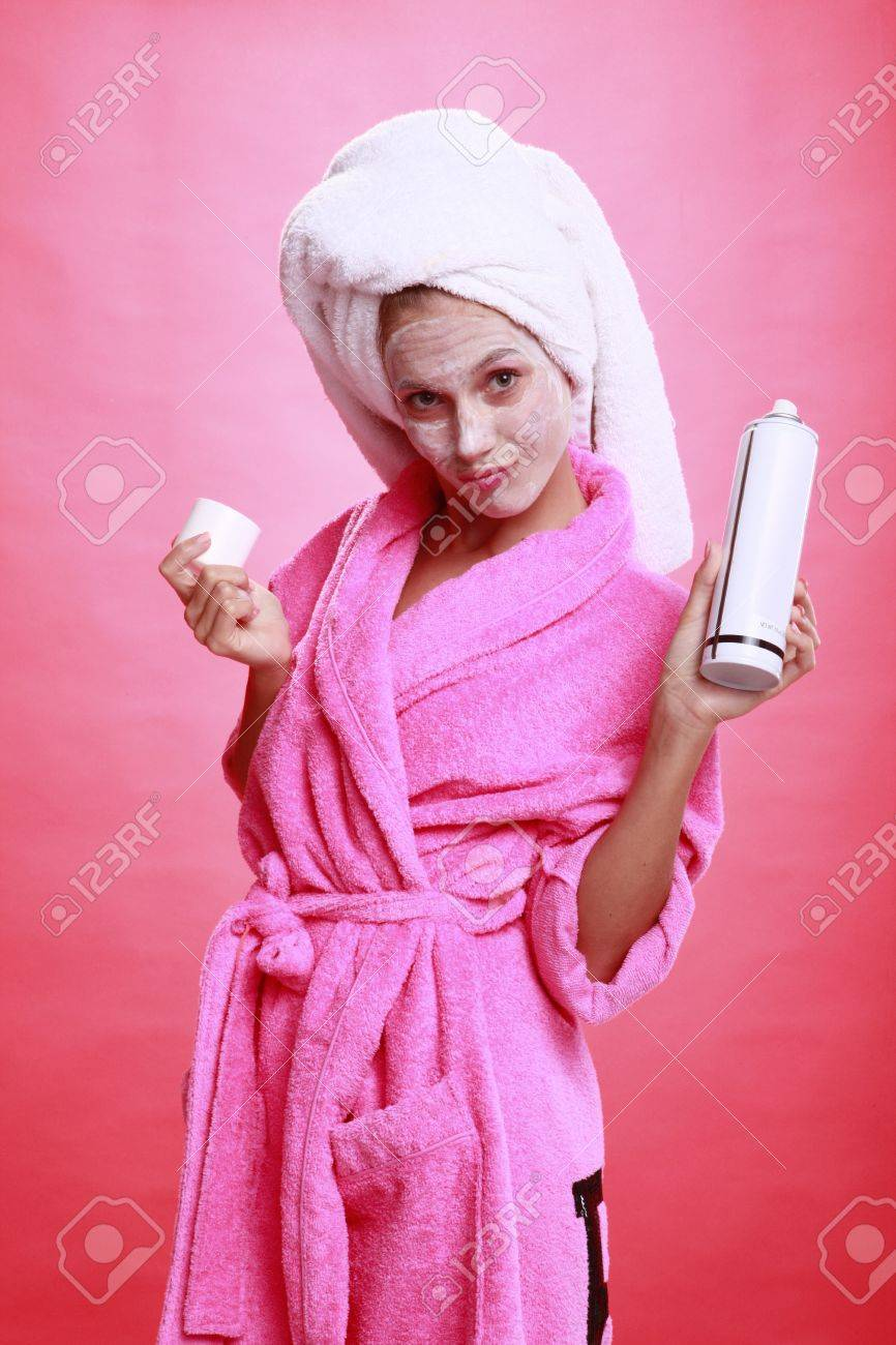 Spray can and pampering Stock Photo - 14025674