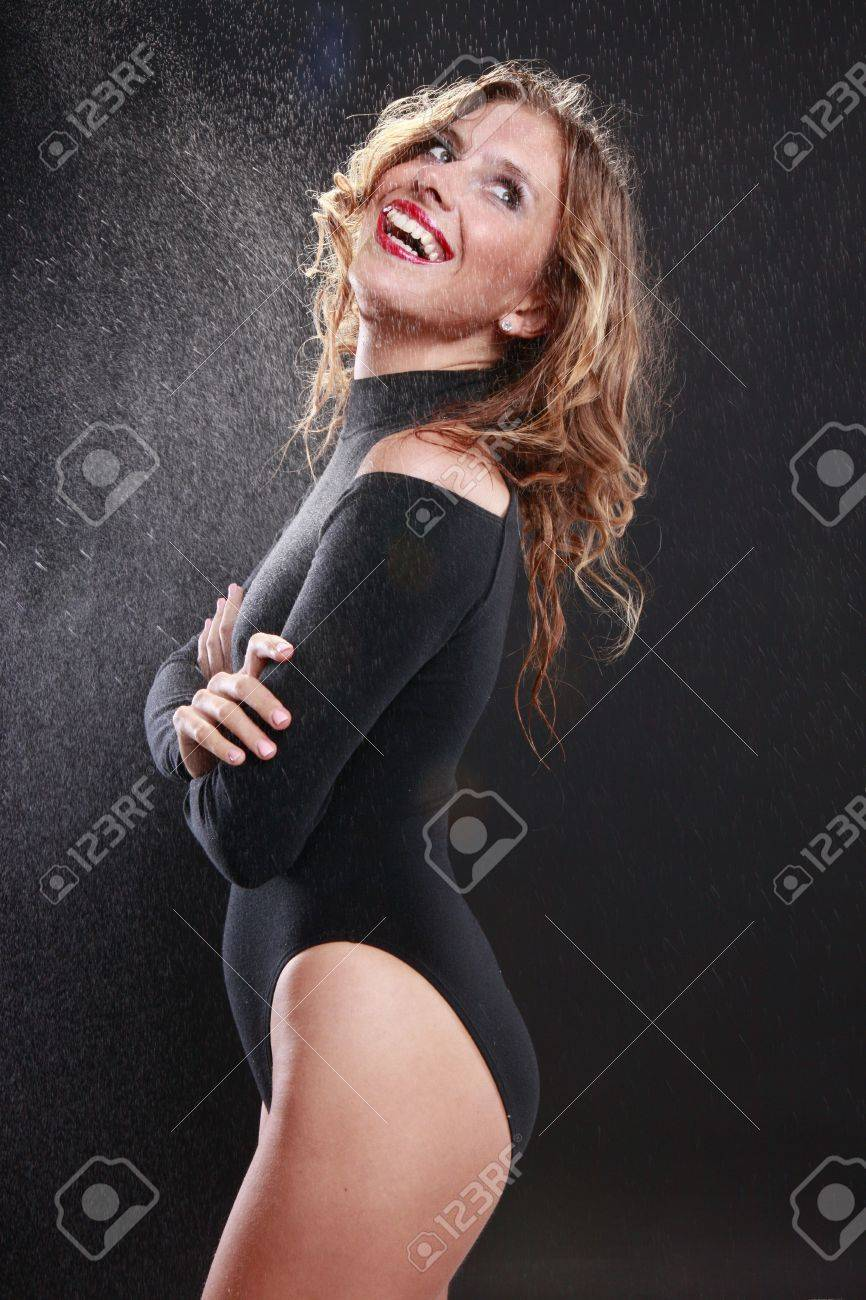 Wet blond under mist Stock Photo - 14025739