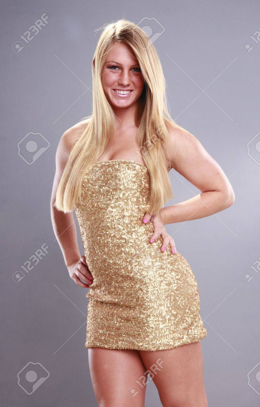Young blond you can add accessories to Stock Photo - 14624182