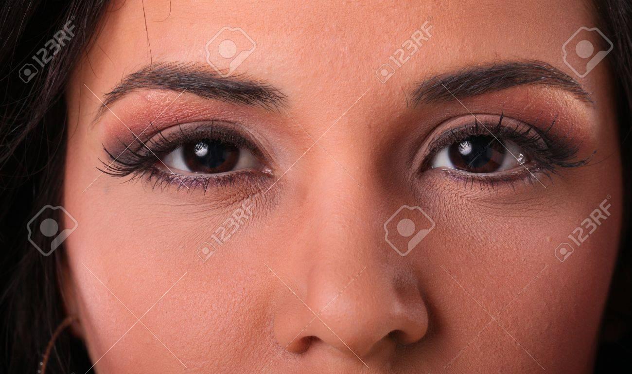 Makeup up close Stock Photo - 17124954