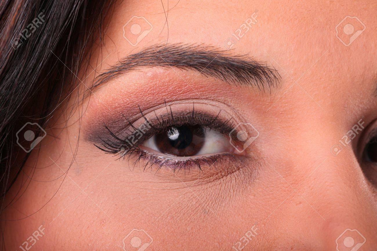 Makeup up close Stock Photo - 17125039