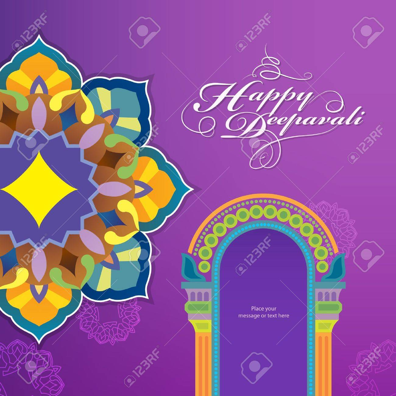 Diwali festival graphic design Stock Vector - 22127951