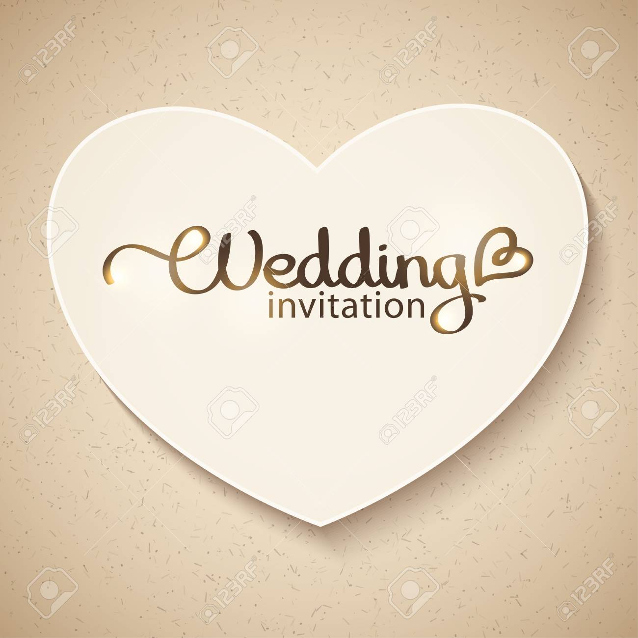 wedding invitation Stock Vector - 19102386