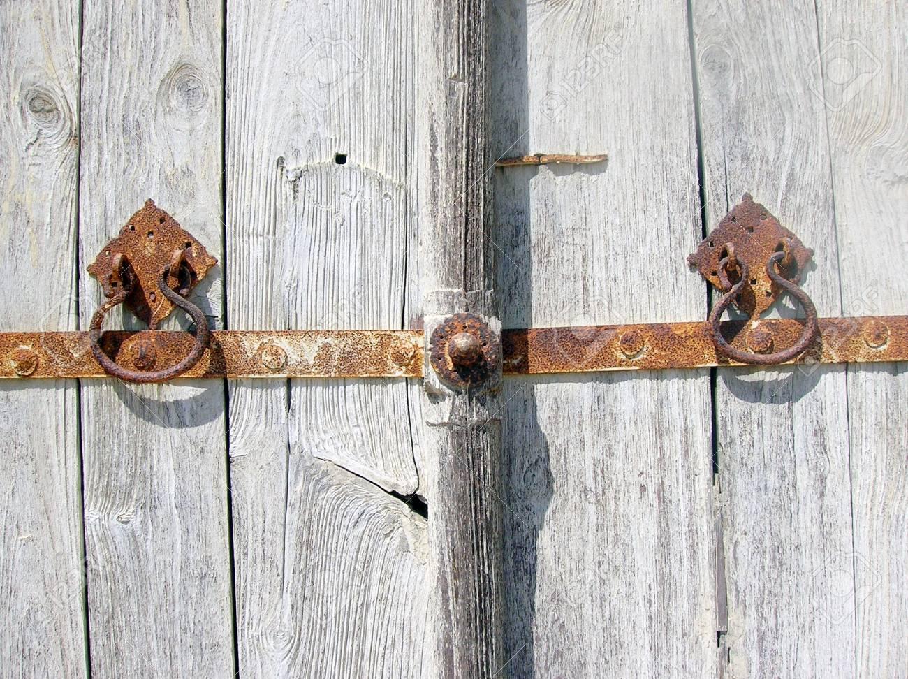 Old  wooden door Stock Photo - 4810879