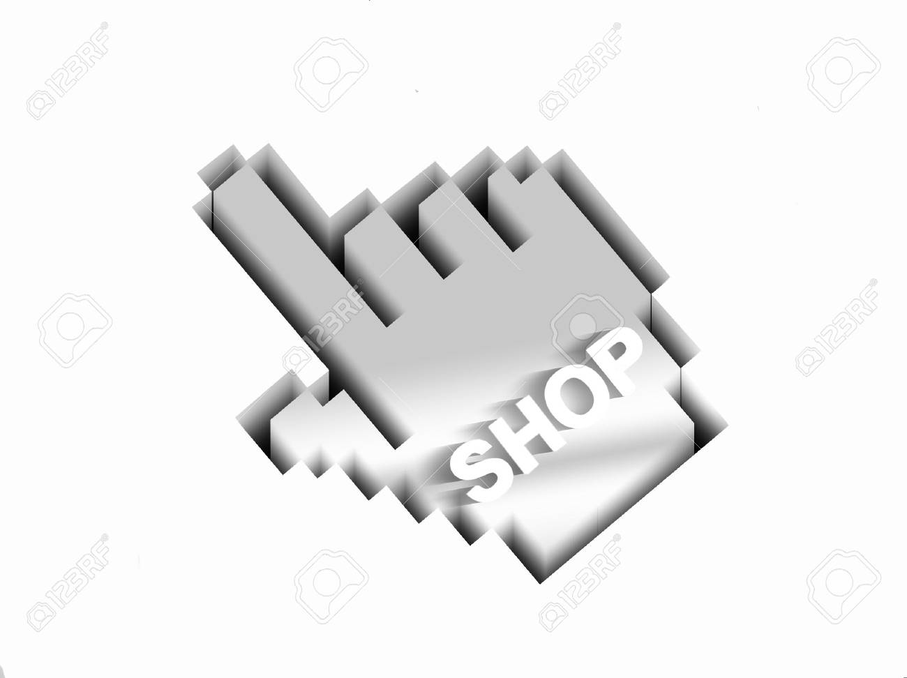 search the web-online shopping Stock Photo - 7442565
