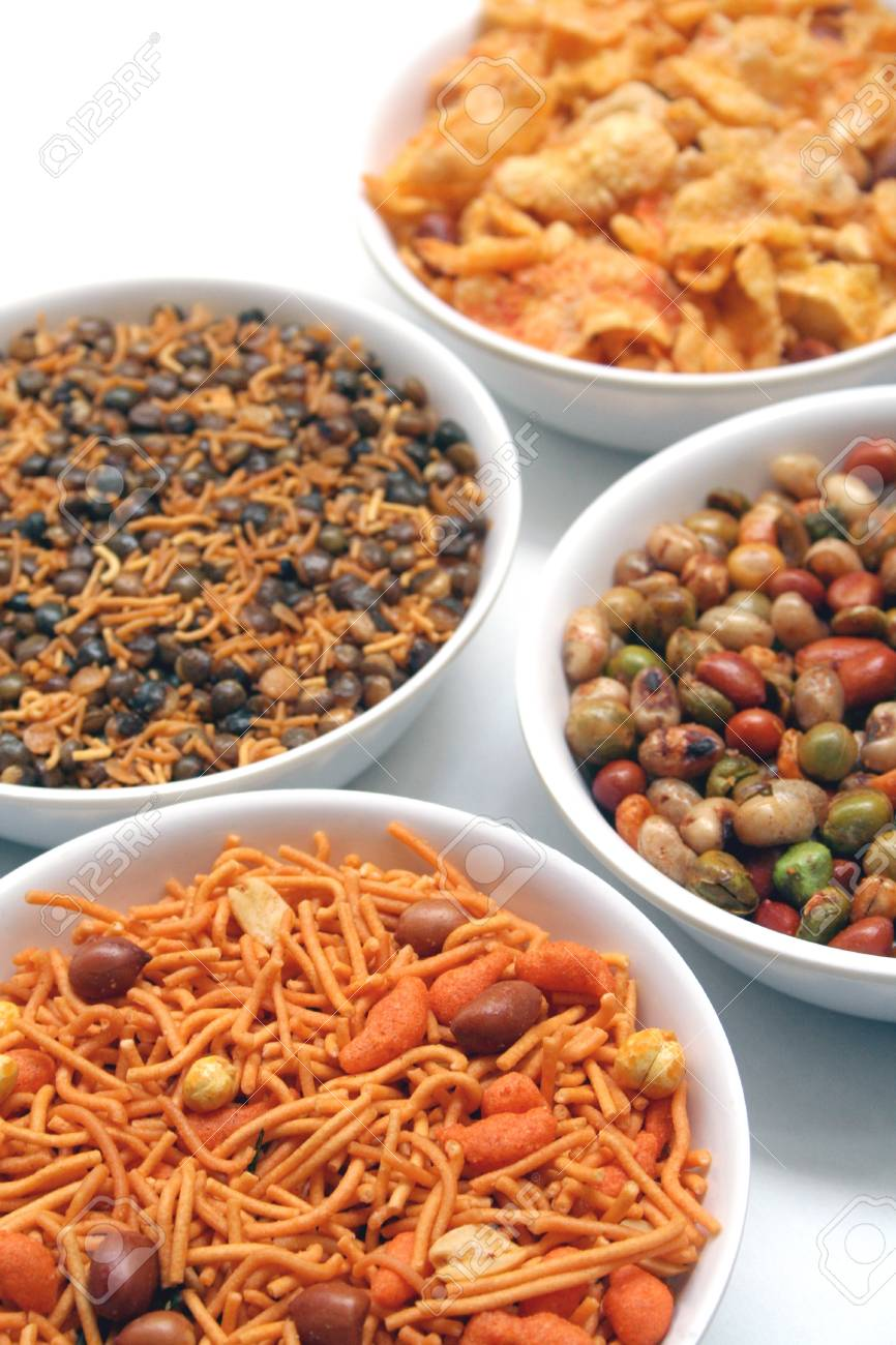 Indian Snack Stock Photo - 9821691
