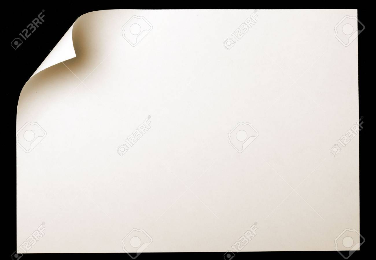 page curl Stock Photo - 3949663