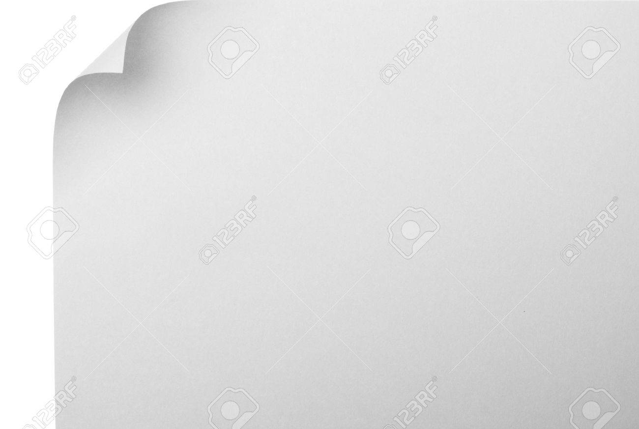 paper page curl Stock Photo - 4007516