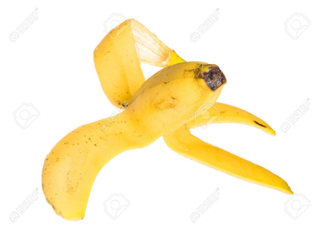 Peel of banana Stock Photo - 5433789