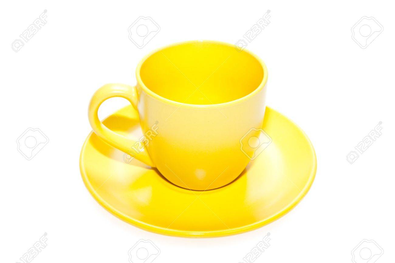 Color cup solated on white. Stock Photo - 5433500