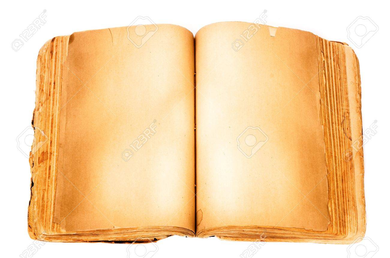 Blank book isolated on white background. Stock Photo - 5775169