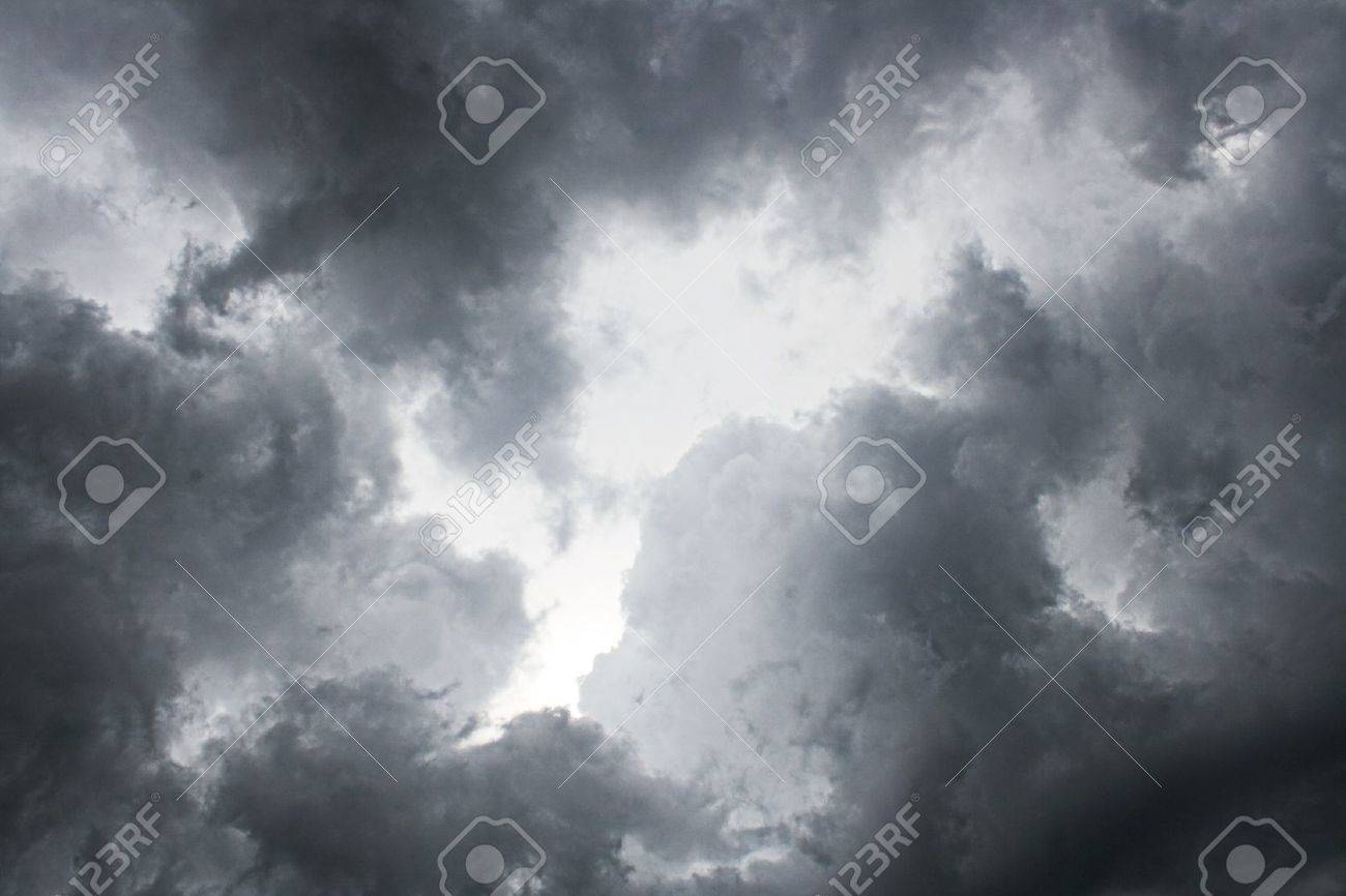 dark night storm sky background Stock Photo - 7495847