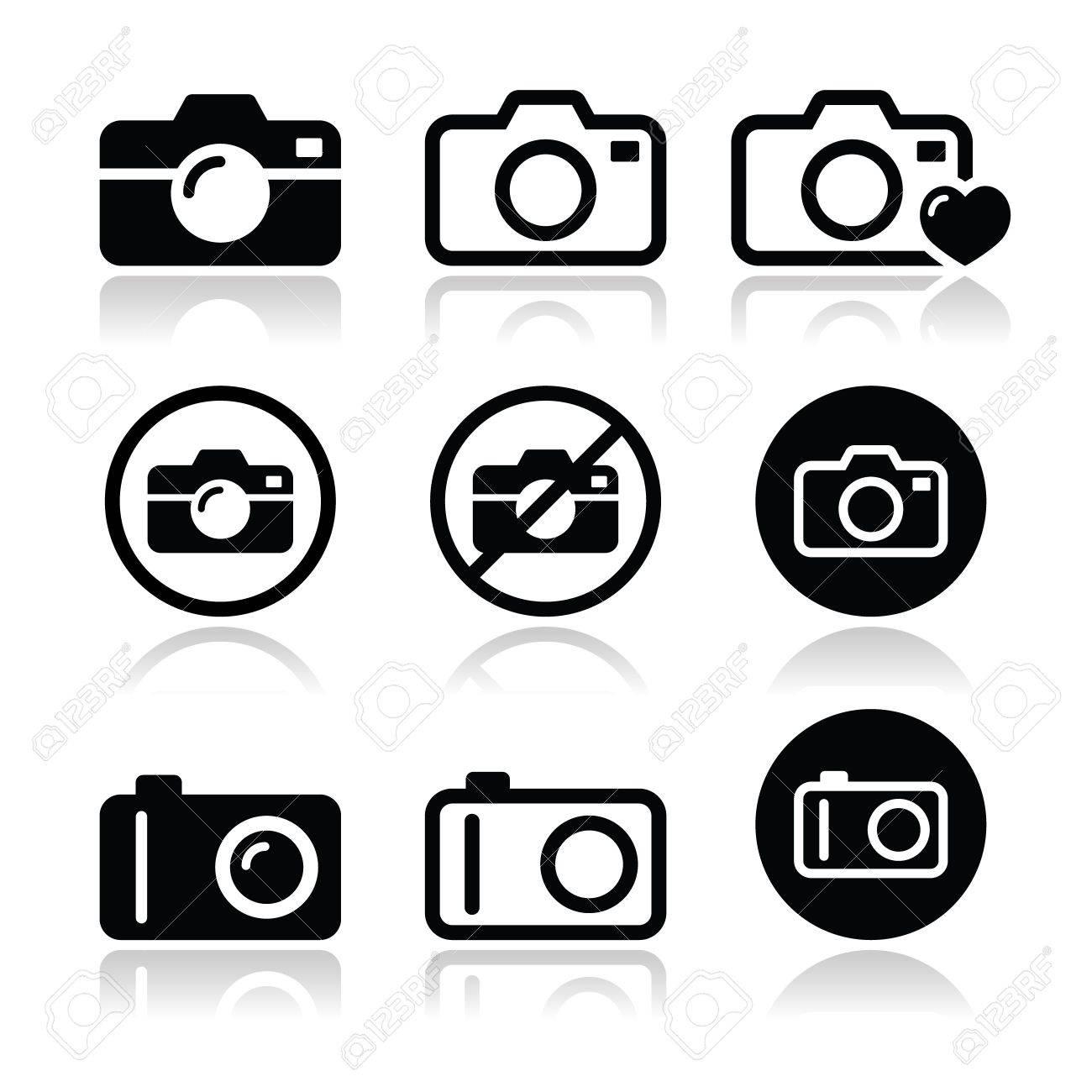 Camera icons set - 21213222