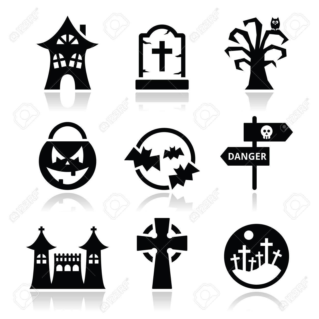Halloween Vectors halloween vector art pack vol2 Vector Halloween Vector Icons Set