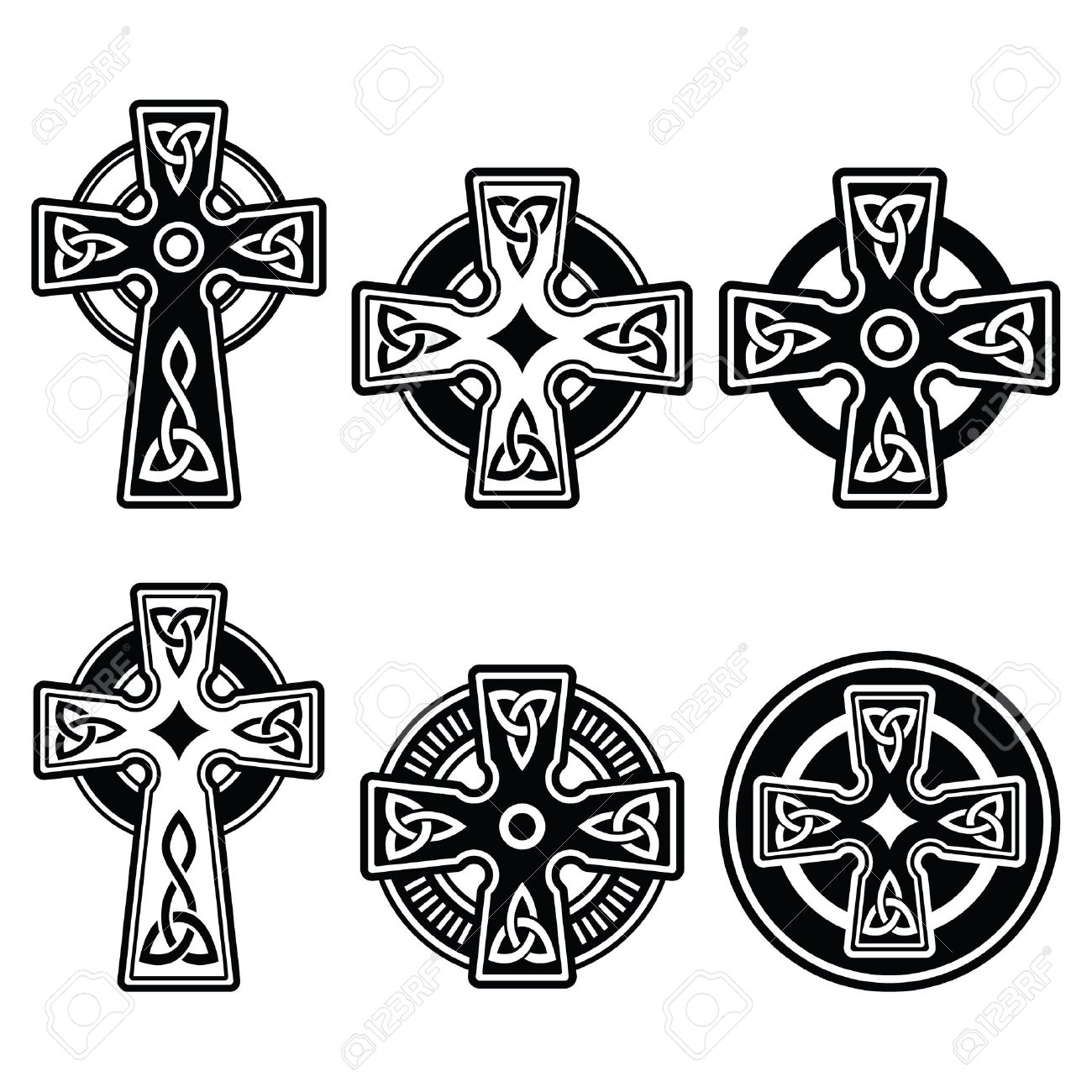Irish scottish celtic cross on white vector sign royalty free irish scottish celtic cross on white vector sign stock vector 33618096 buycottarizona