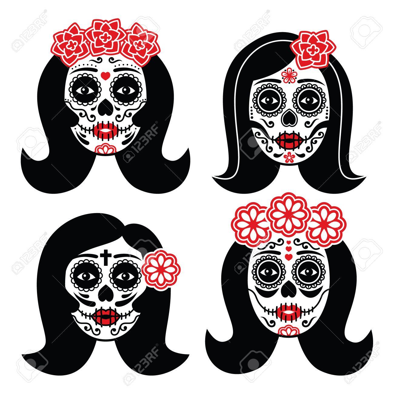 la calavera catrina Mexicano La Catrina , día del cráneo muerto niña