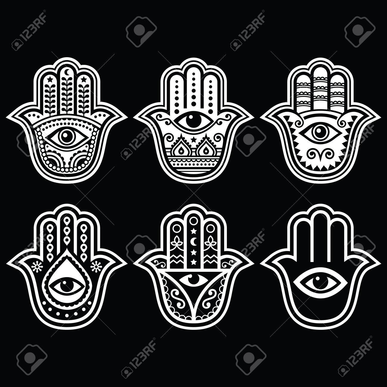 Hamsa Hand Hand Of Fatima Amulet Symbol Of Protection From